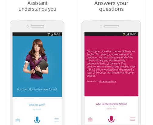 Assistant app