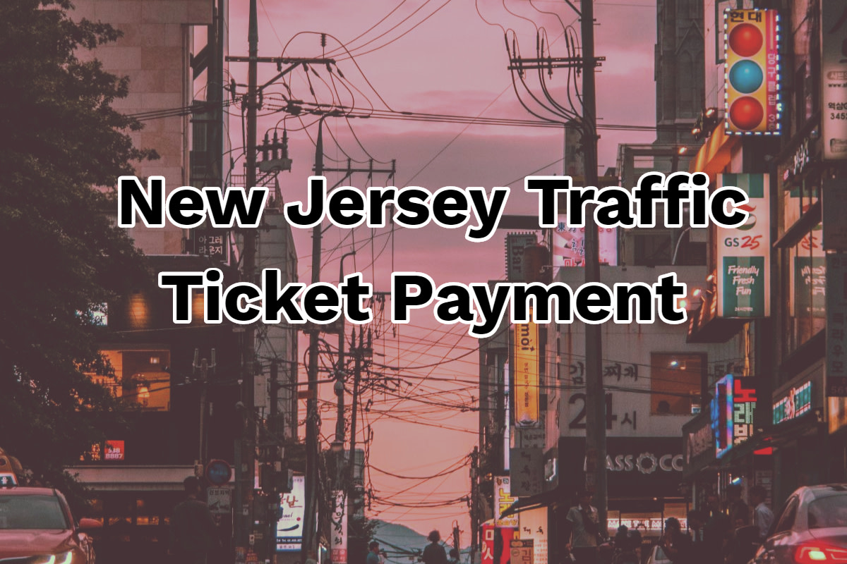 New Jersey Traffic Ticket Payment Online